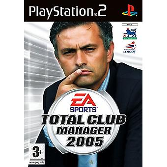 Total Club Manager 2005 (PS2) - Factory Sealed