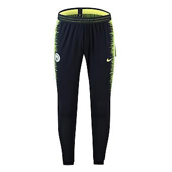 2018-2019 Man City Nike Strike Vaporknit Training Pants (Obsidian)