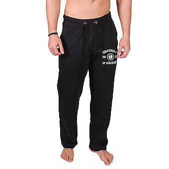 Men's College Sweatpants Black