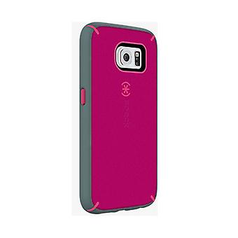 Speck MightyShell Case for Samsung Galaxy S6 (Fuchsia Pink/Cupcake Pink/Heritage Grey)