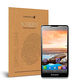 Celicious Vivid Invisible Glossy HD Screen Protector Film Compatible with Lenovo A889 [Pack of 2]