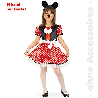 MacIE mouse costume child Minniekostüm cartoon mouse Minnie child costume
