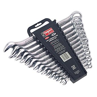 Sealey S0714 Combination Spanner Set 14Pc Imperial