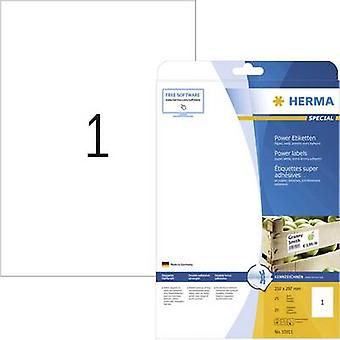 Herma 10911 Labels 210 x 297 mm Paper White