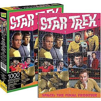Star Trek Retro 1000 Piece Jigsaw Puzzle 690Mm X 510Mm