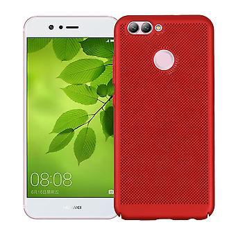 Mobile Shell pour Huawei Nova manchon affaire sac Housse Etui rouge
