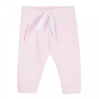 Kenzo Infants Daila Tiger Face Joggers 3m-4y (Pink)