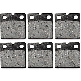 KMG 1983-1988 BMW K 100 RS/RT Front + Rear Non-Metallic Organic NAO Brake Pads