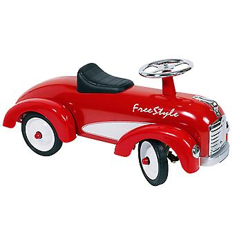 Marche voiture Freestyle rouge