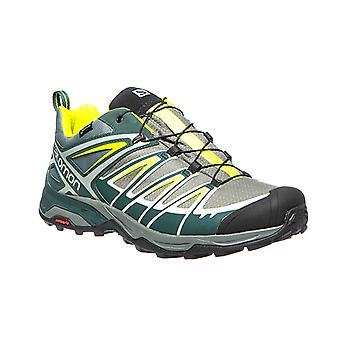 Salomon X Ultra 3 men's trekking boots GORE TEX Green