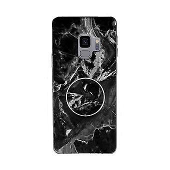 Marble case with phone holder - Samsung Galaxy S9+