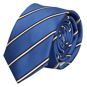 Krawat krawat krawat 6cm niebieski biały krawat czarny pasiasty Fabio Farini