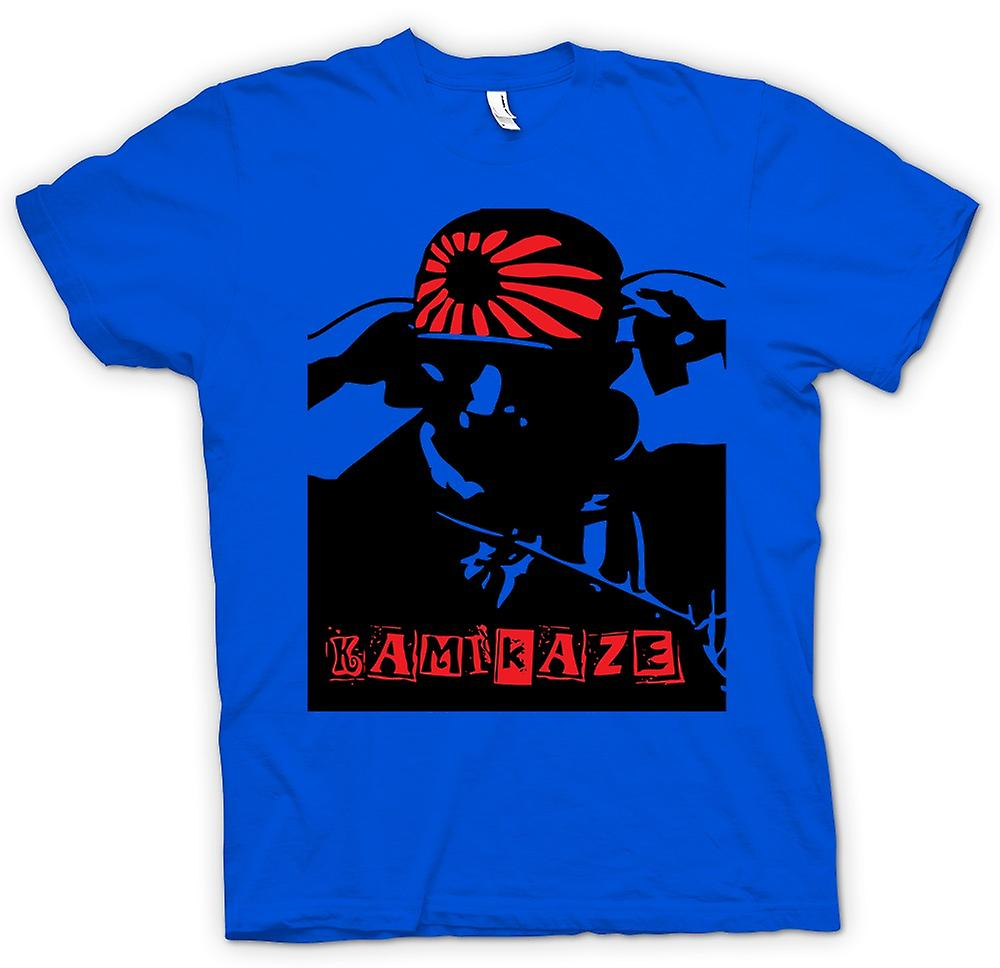 Mens T-shirt - Kamikaze Japanese - WW2 War