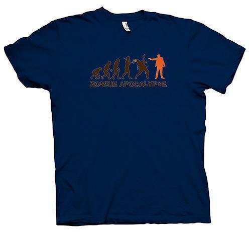 Mens t-skjorte - Zombie Apocalypse - Funny