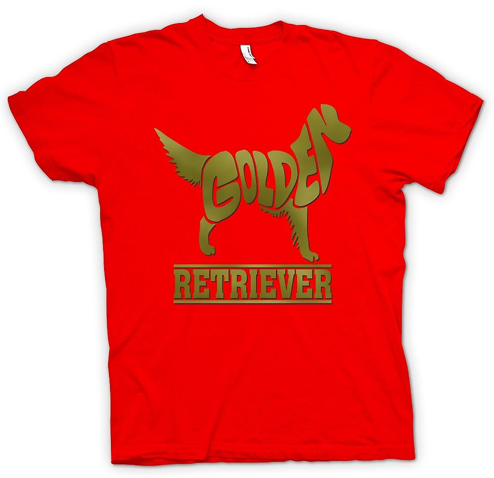 Mens T-shirt - Golden Retriever