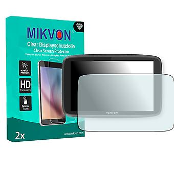 TomTom Go 6200 Screen Protector - Mikvon Clear (Retail Package with accessories)