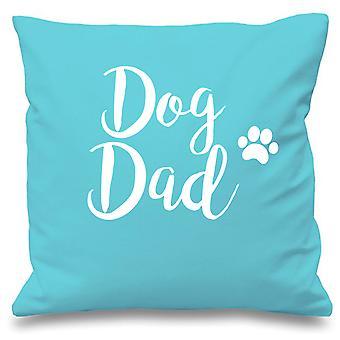 Dog Dad Aqua Cushion Cover 16