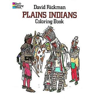 Plains Indians Colouring Book (Colouring Books)