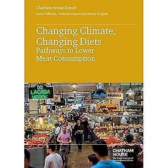 Klimaat verandert, veranderen van voeding: Pathways to lagere vleesconsumptie