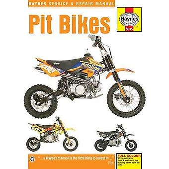 Pit Bikes Manual (Haynes Service & Repair Manual)
