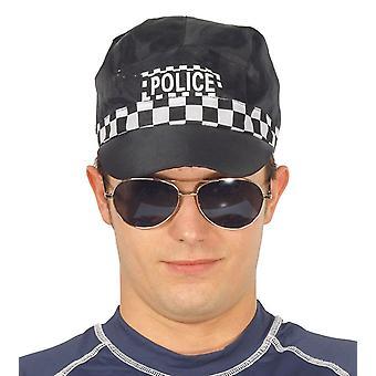 Volwassenen politie Cap Fancy Dress accessoire