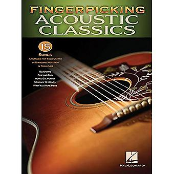 Fingerpicking Acoustic Classics: 15 Songs Arranged� for Solo Guitar in Standard Notation & Tab