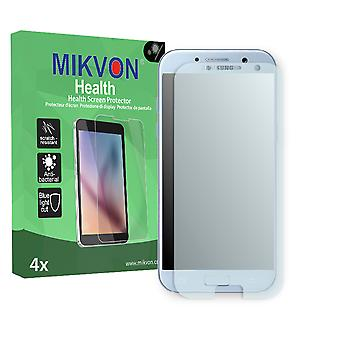 Samsung Galaxy A5 (2017) Screen Protector - Mikvon Health (Retail Package with accessories) (reduced foil)