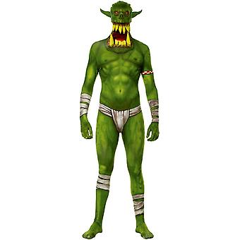 Morphsuit Green Jaw Dropper Adult Costume