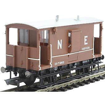 Hornby R6833A LNER Diagramm 034 Toad B 20 t Bremse Van