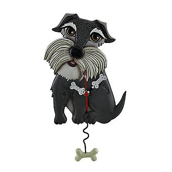 Allen design Lucy Dog lunefull veggur med hunden bein formet pendel