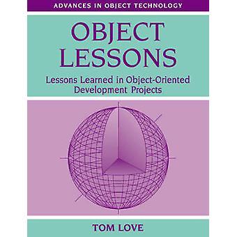 كائن الدروس الدروس المستفادة في مشاريع التنمية أوبجيكتورينتيد بالحب آند توم
