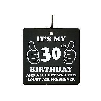 30 cumpleaños pésimo ambientador de aire