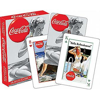 Coca Cola Coke Beauties set of playing cards   (nm 52298)