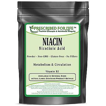 Niacin - Vitamin B3 - Nicotinic Acid Powder