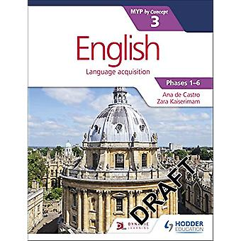 English for the IB MYP 3 by Zara Kaiserimam - 9781471880674 Book