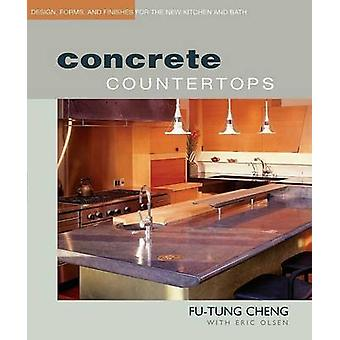 Concrete Countertops - Design - Forms - and Finishes for the New Kitch