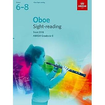 Oboe Sight-Reading Tests - ABRSM Grades 6-8 - from 2018 - 978184849982