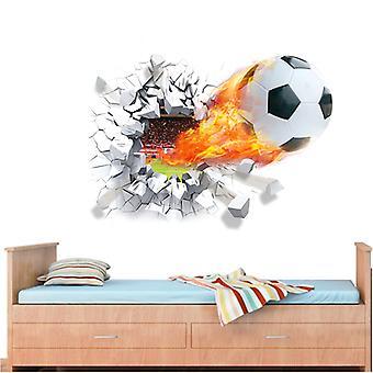 Väggdekor - Fire ball 70 x 50 cm.