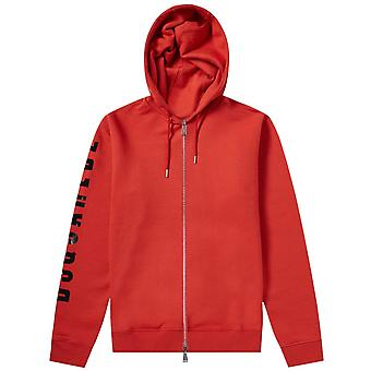 Dsquared2 Arm Logo Hoodie Red