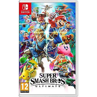 Super Smash Bros. Ultimate Nintendo Switch Game
