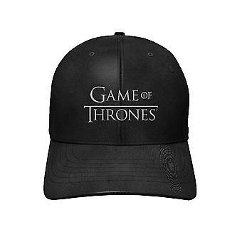 Game Of Thrones Baseball Cap Classic Logo Saison 8 nouveau Black Snapback officiel
