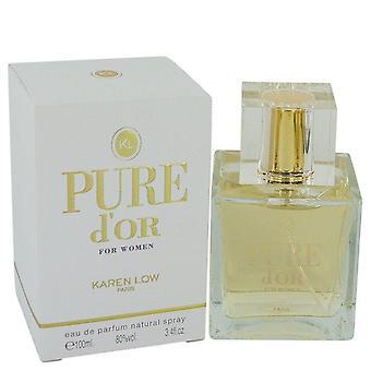 Pure D'oder Eau De Parfum Spray von Karen Low 100 ml
