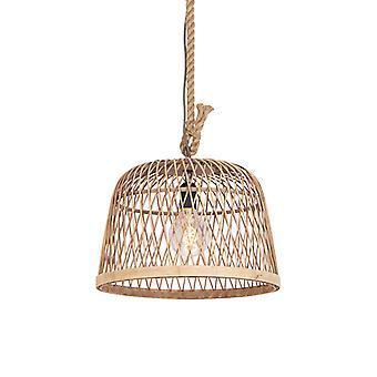 QAZQA Rattan hanging lamp - Calamus