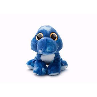 Aurora monde bonbons Jazzy Stegosaurus peluche (bleu/jaune)