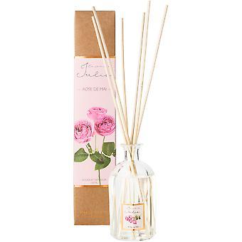 Le jardin de julie Mikado 150Ml Rose De Mai