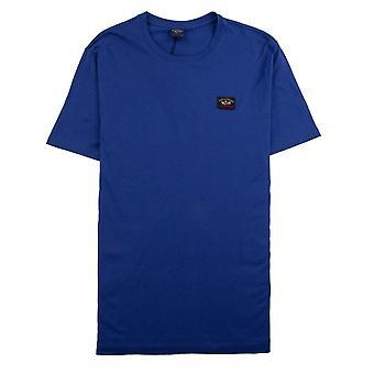 Paul and Shark Paul And Shark Crew Neck Logo T-shirt Blue