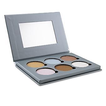Bellapierre Cosmetics Glühende Palette 2 (6x Beleuchtung) - 17.28g/0.6oz