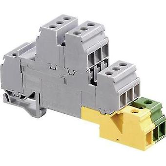 Industrial terminal block 17.8 mm Screws Configuration: Terre, L Grey, Green-yellow ABB 1SNA 110 366 R0000 1 pc(s)