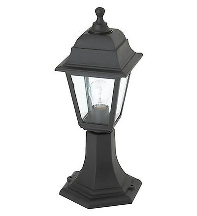 Endon EL-40043 Enluce Black Rust Proof Outdoor Post Light IP44
