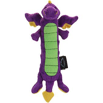 goDog Skinny Dragons with Chew Guard Large-Purple 770298